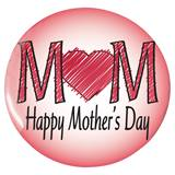 Happy Mothers Day Button - 1 3/4 in.