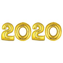 Gold 2020 Balloon Kit