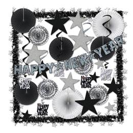 Silver New Year's Decorating Kit
