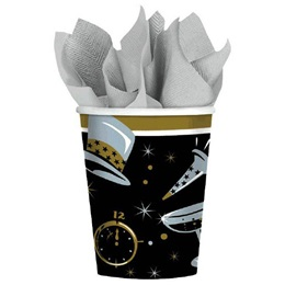Black Tie Affair 9 oz Cups, 36/pkg