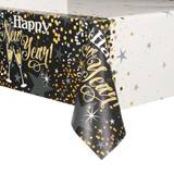 Glittering New Year Table Cover