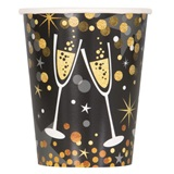 Glittering New Year Hot/Cold Cups