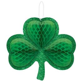 Shamrock Honeycomb Decoration