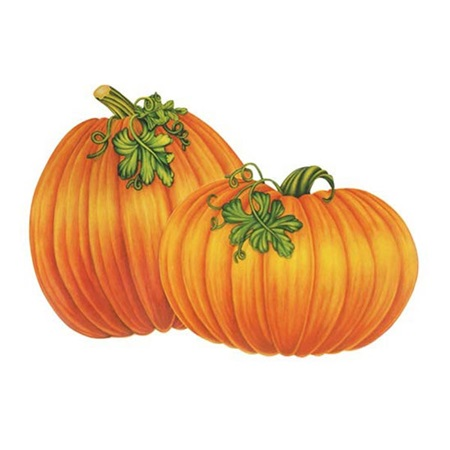 Harvest Pumpkin Cut-Outs, 4/pkg.