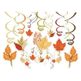 Fall Foliage Hanging Swirl Value Pack