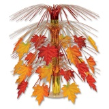 Fabric Fall Leaves Cascade Centerpiece