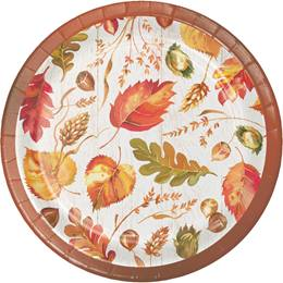 Autumn Leaves Luncheon Plates