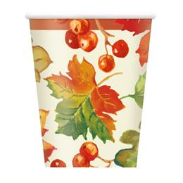 Berries & Leaves Paper Cups