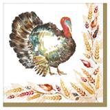 Classic Thanksgiving Luncheon Napkins
