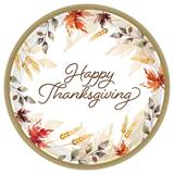 Classic Thanksgiving Luncheon Plates