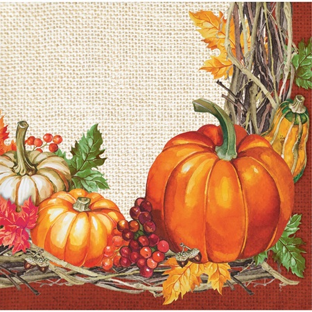 Plentiful Harvest Beverage Napkins