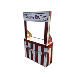 Kissing Booth Cardboard Stand-up