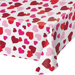 Watercolor Heart Table Cover