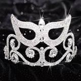 Mylee Mask Tiara, 4 in.