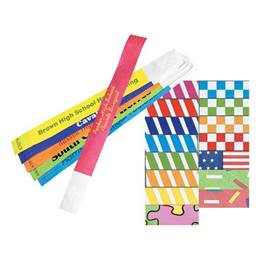Tyvek Personalized Wristband