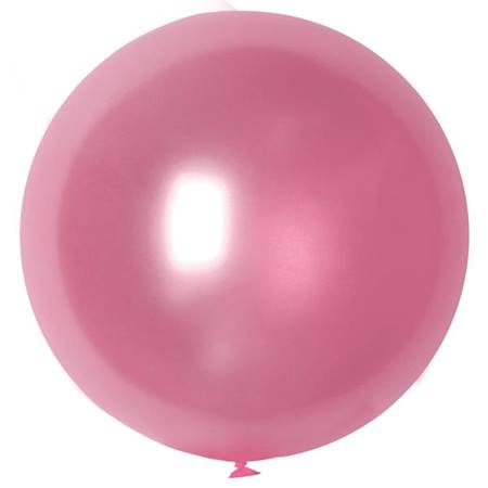 Silk Pink Latex Balloon