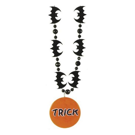 Bat Beads with Medallion, 33 in.