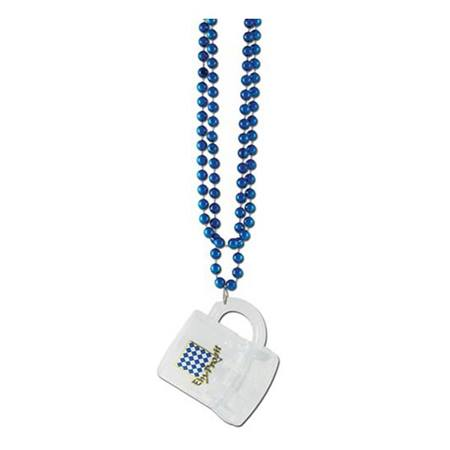 Oktoberfest Beads with Mug Medallion