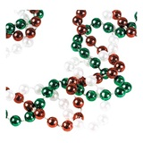 Red/White/Green Twist Beads
