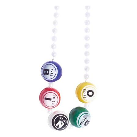 Bingo Bead Necklace