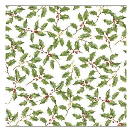 Holly Placemats, 12 per package