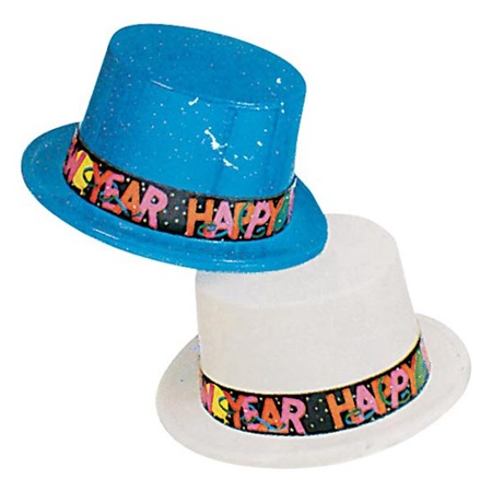 Happy New Year Top Hat | M&N Party Store