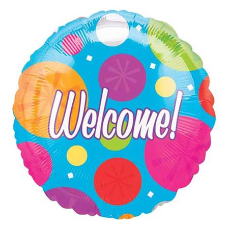 Foil Welcome Balloon