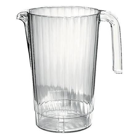 Clear Plastic Pitcher, 50 oz.