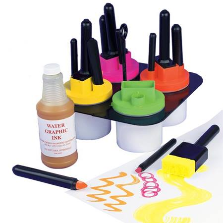 Fluorescent Ink Kit 4 qt