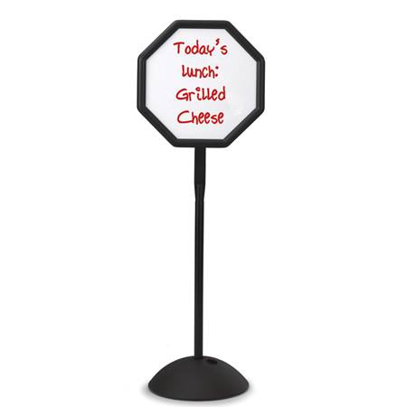 Octagon Dry-Erase Message Sign