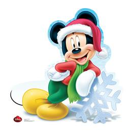 Holiday Mickey Mouse Stand-Up
