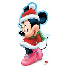 Holiday Minnie Mouse Stand-Up