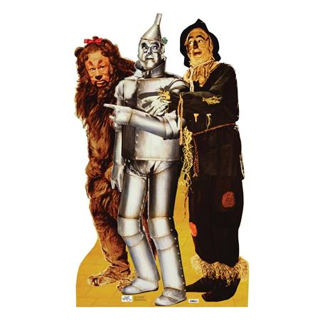 Lion, Tin Man and Scarecrow Stand-Up
