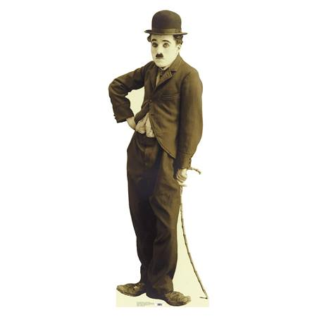 Charlie Chaplin Photo Stand Up