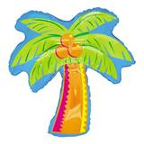 Tropical Palm Tree Metallic Balloon