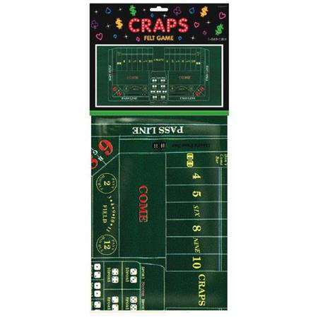 Craps Table Cover