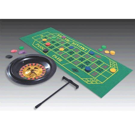 Roulette Wheel Casino Kit