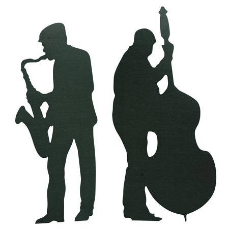 Swing Time & String Time Sax & Bass Player Kit