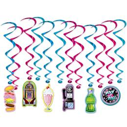 Hanging Soda Shop Whirls