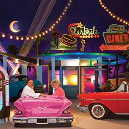 Fifties Drive-In Complete Theme Kit