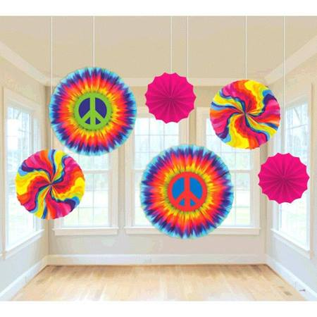 60s Fan Decorations