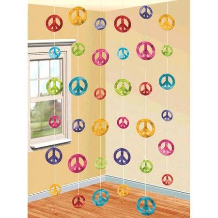 Peace Signs String Decorations