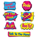 90s Phrase Cutouts Pack