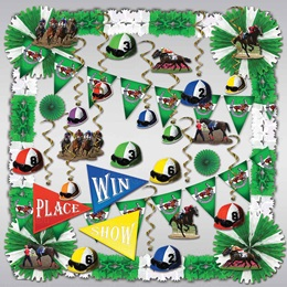 Horse Racing Decorating Kit