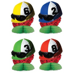 Jockey Helmet Mini Centerpieces