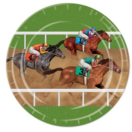 Horse Racing Luncheon Plates