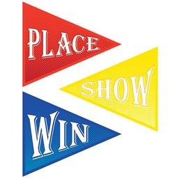 Win, Place, Show Cutouts