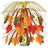 Autumn Leaves Cascade Centerpiece