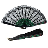 Fiesta Lace Folding Fan