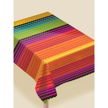 Fiesta Stripe Table Cover